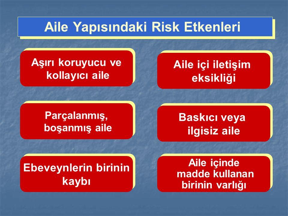 Aile Yapısındaki Risk Etkenleri