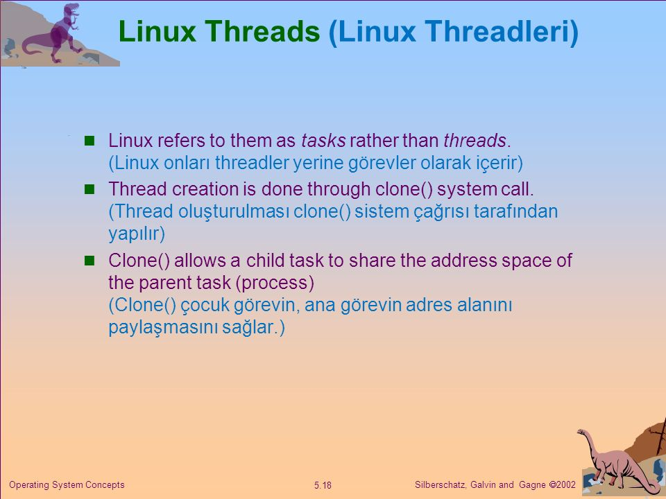 Linux Threads (Linux Threadleri)