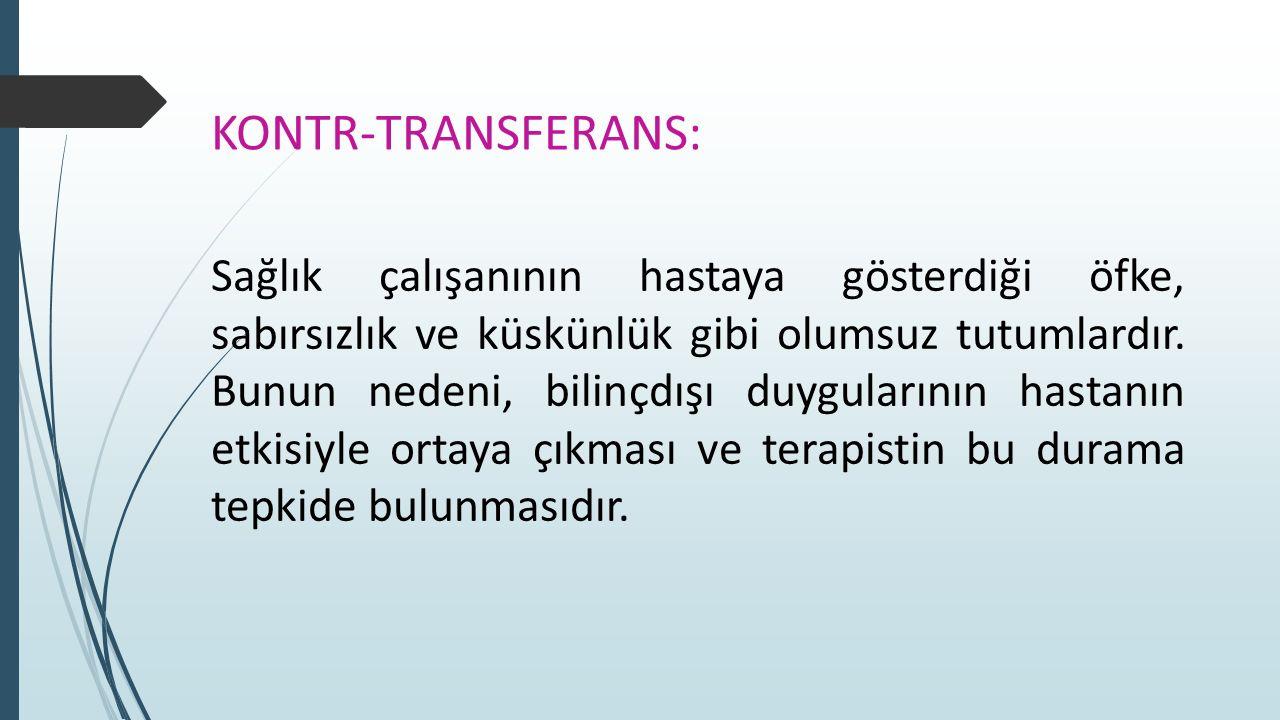 Kontr-Transferans: