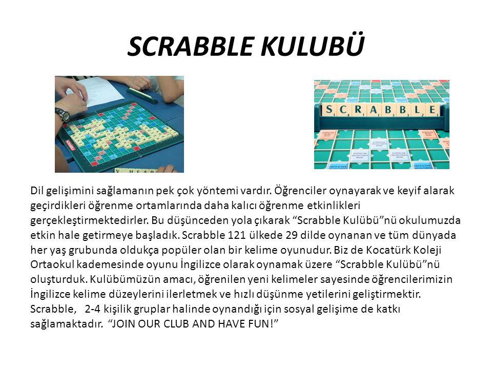SCRABBLE KULUBÜ