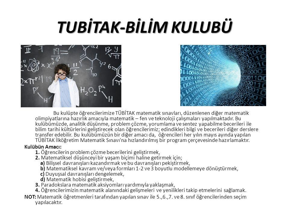 TUBİTAK-BİLİM KULUBÜ