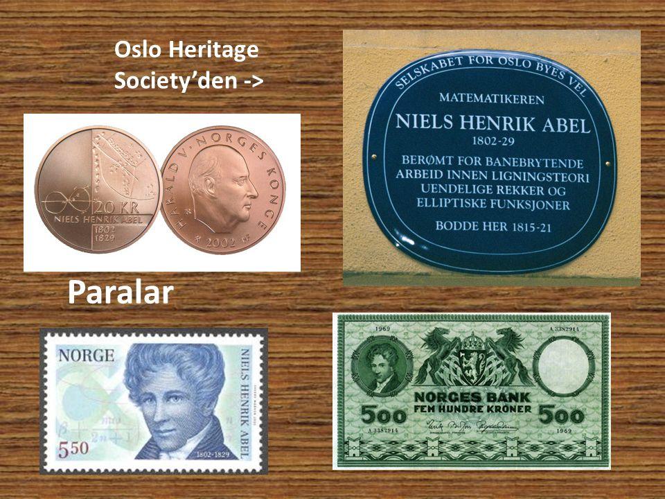 Oslo Heritage Society'den ->