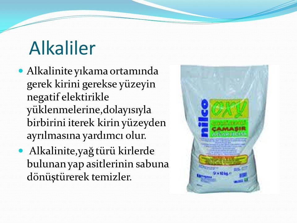 Alkaliler