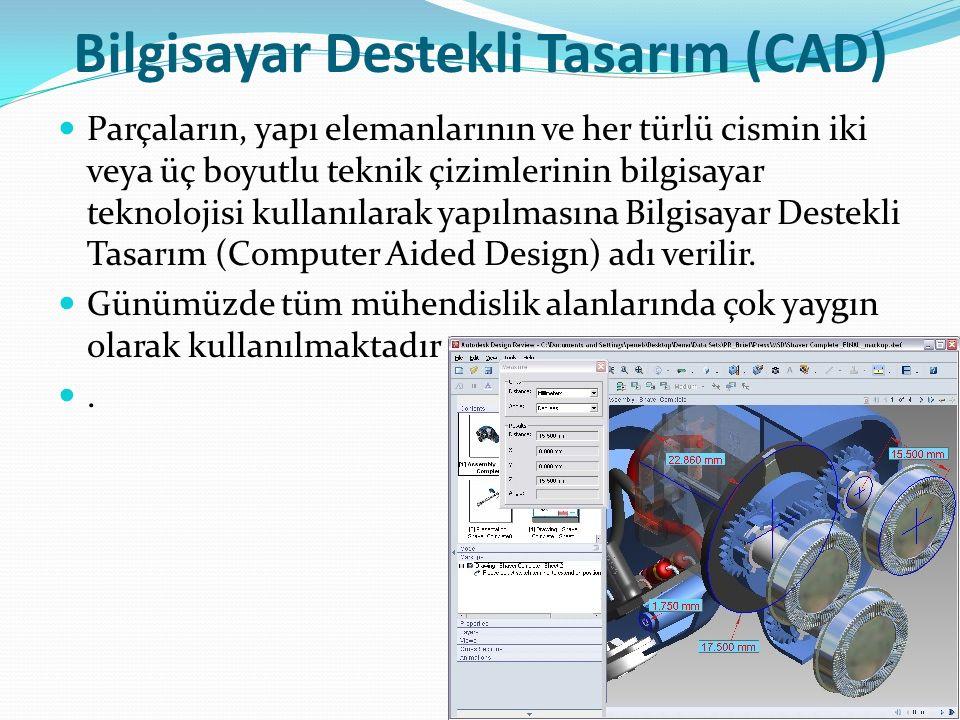 Bilgisayar Destekli Tasarım (CAD)