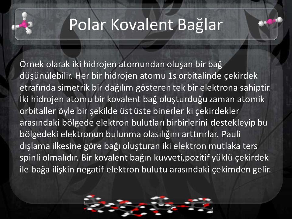 Polar Kovalent Bağlar