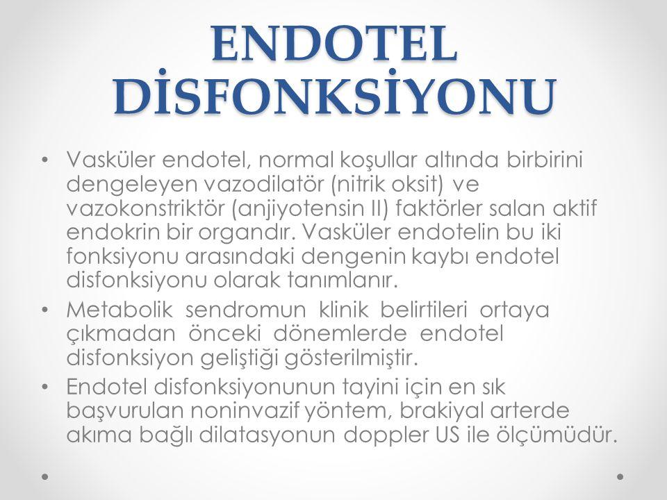 ENDOTEL DİSFONKSİYONU
