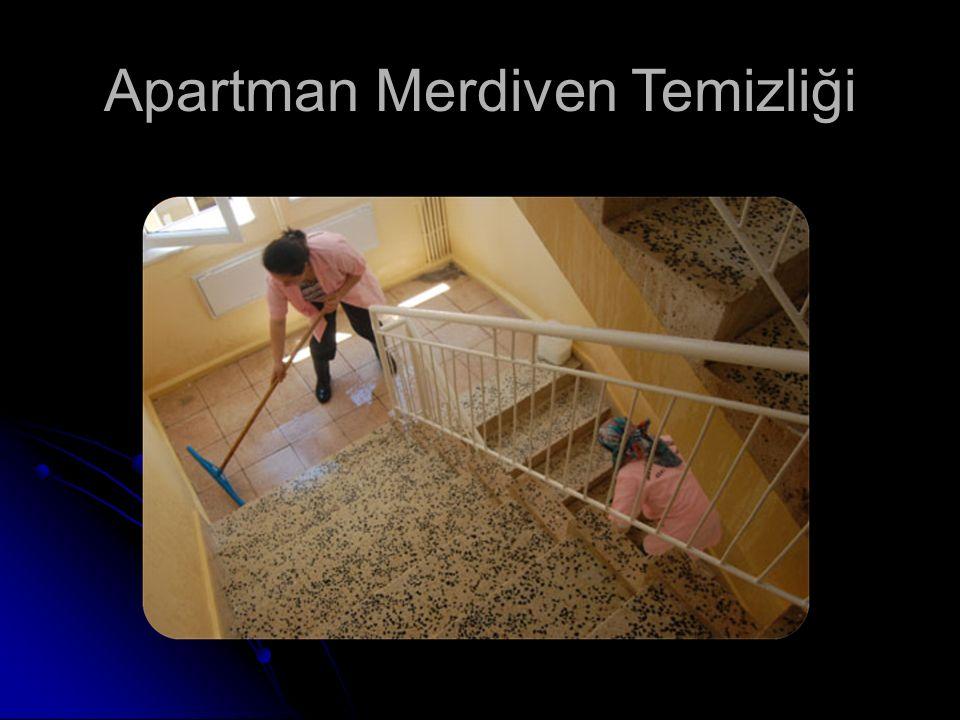 Apartman Merdiven Temizliği