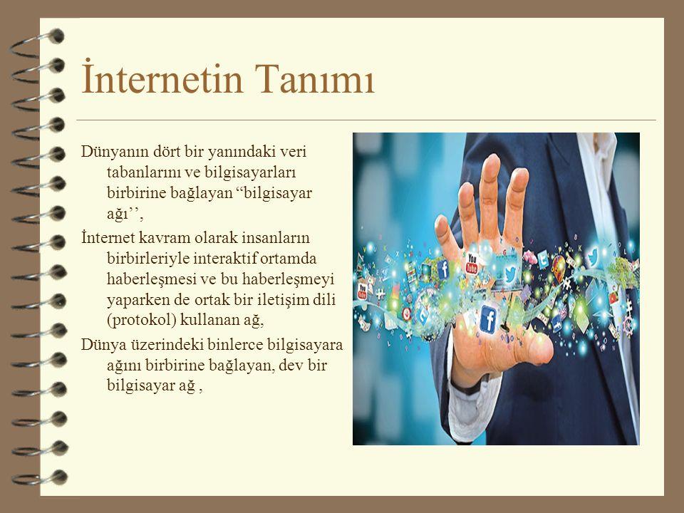İnternetin Tanımı