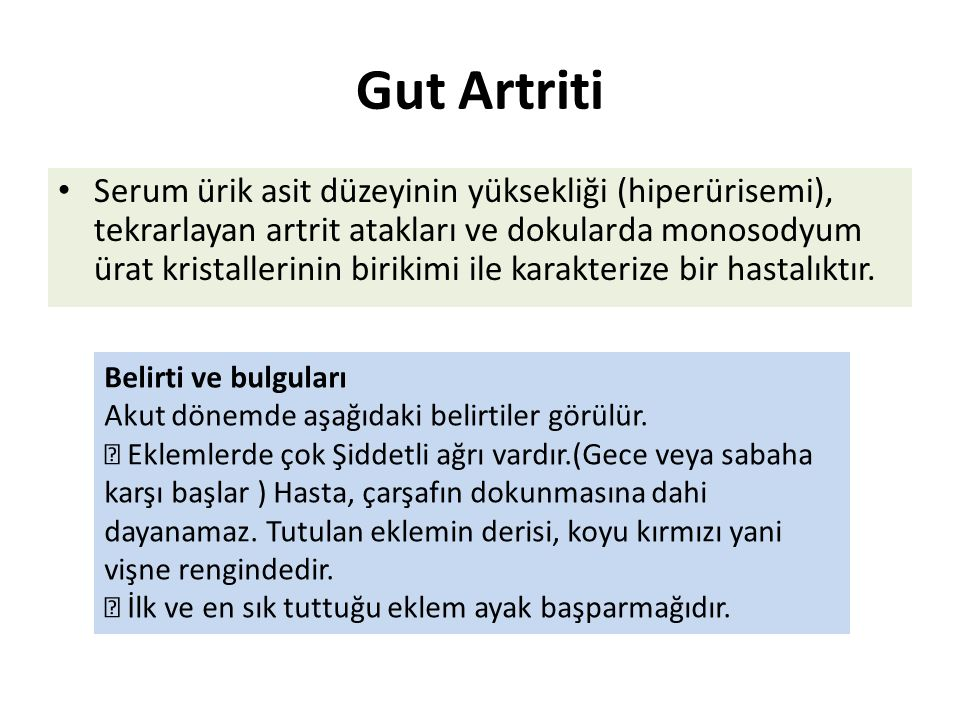 Gut Artriti