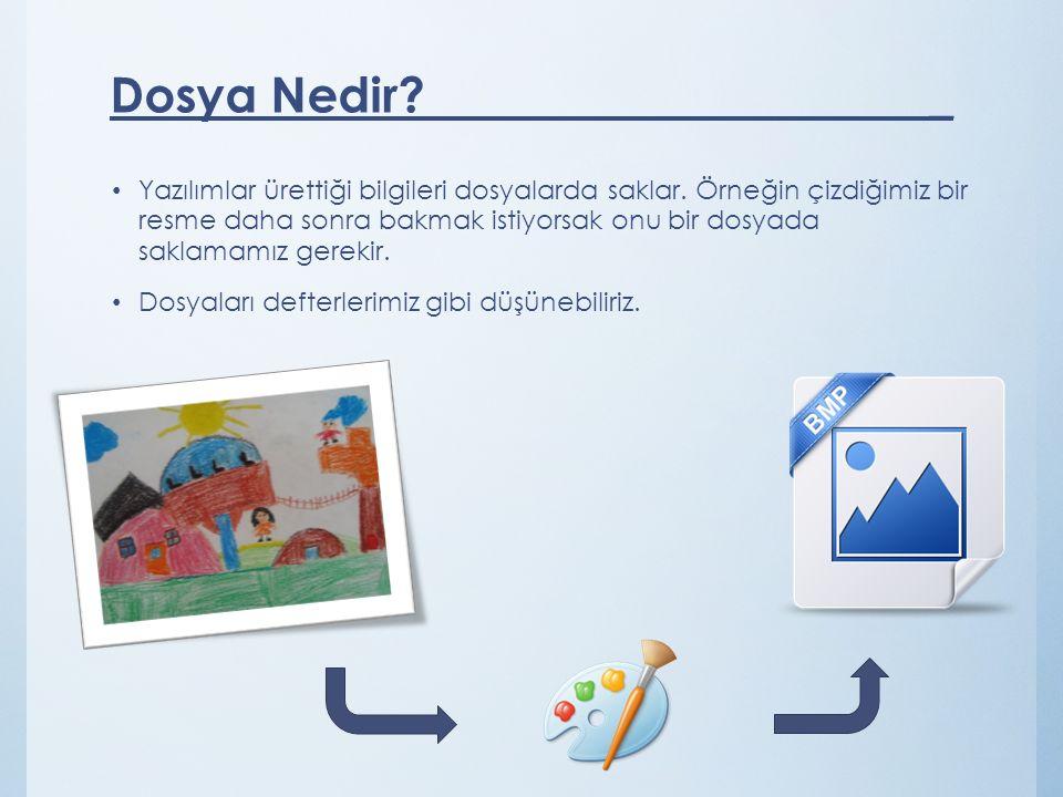 Dosya Nedir _