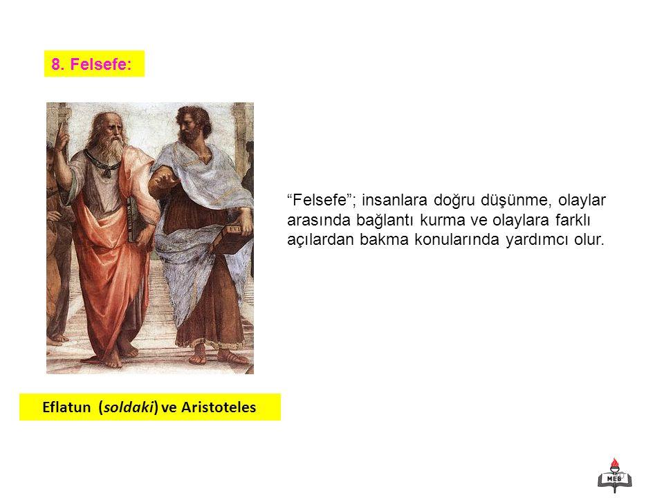 Eflatun (soldaki) ve Aristoteles