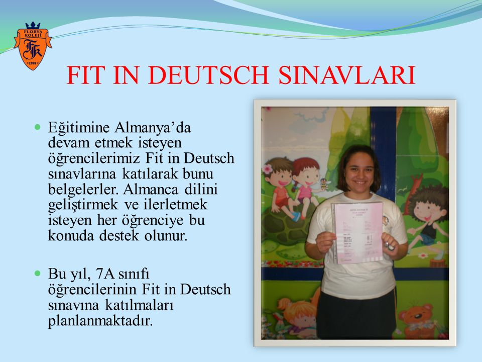 FIT IN DEUTSCH SINAVLARI