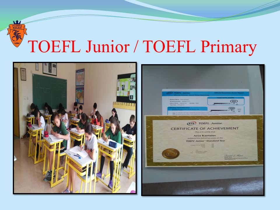 TOEFL Junior / TOEFL Primary