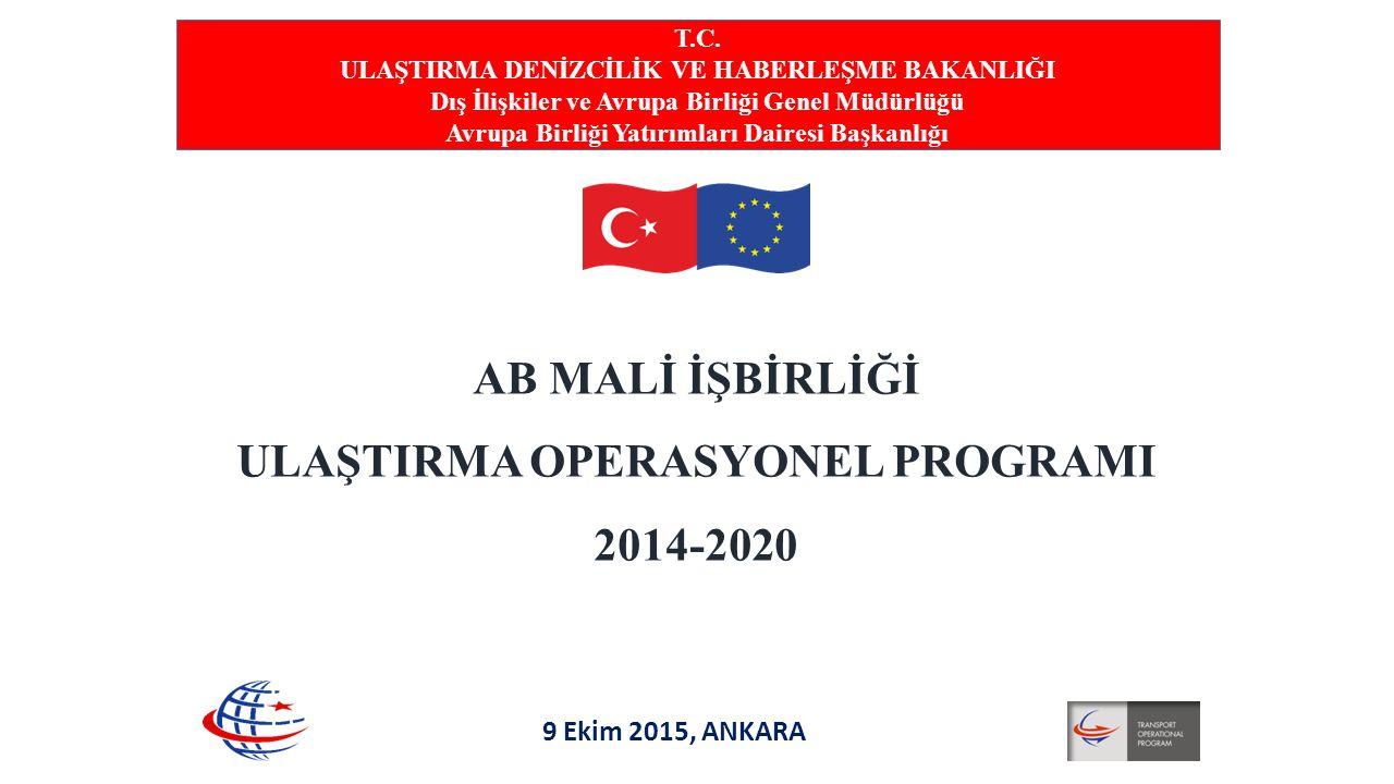 AB MALİ İŞBİRLİĞİ ULAŞTIRMA OPERASYONEL PROGRAMI 2014-2020