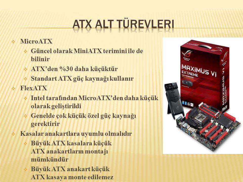 ATX Alt Türevleri MicroATX