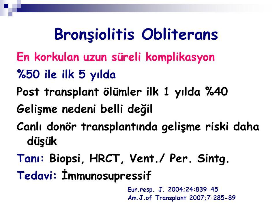 Bronşiolitis Obliterans