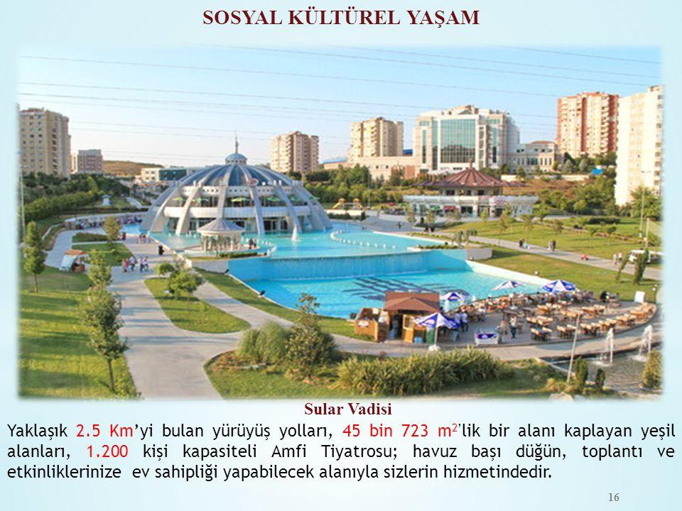 SOSYAL KÜLTÜREL YAŞAM Sular Vadisi