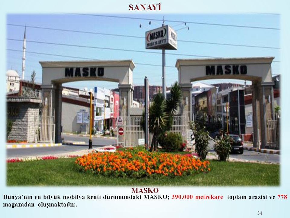 SANAYİ MASKO.