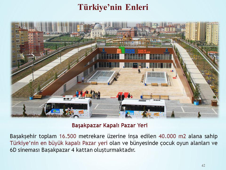 Türkiye'nin Enleri Başakpazar Kapalı Pazar Yeri