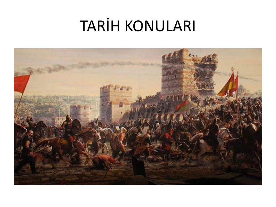 TARİH KONULARI