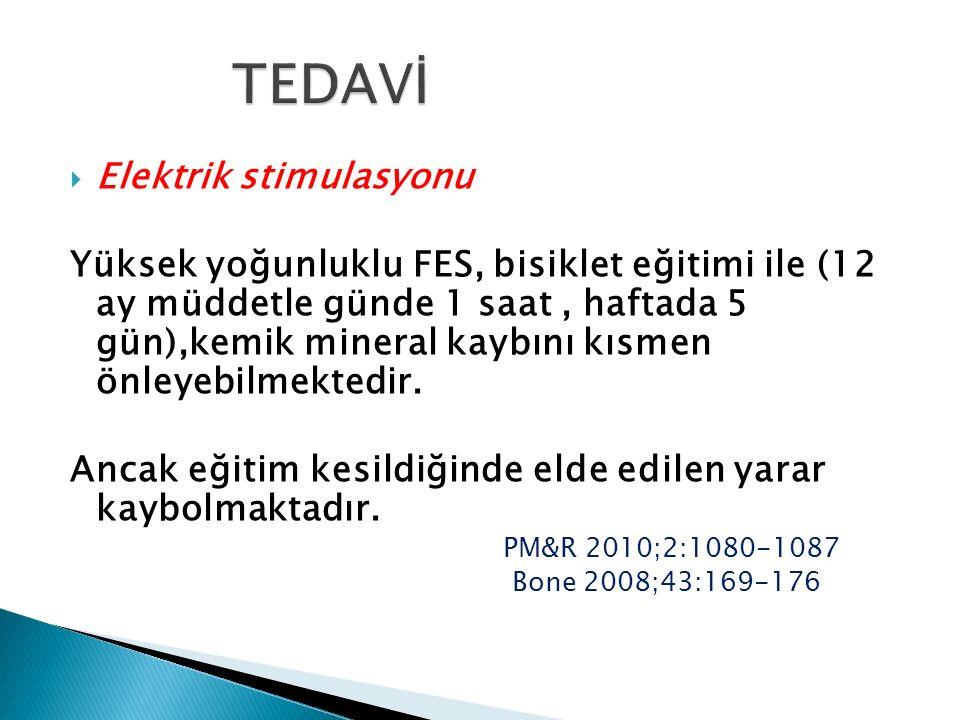 TEDAVİ Elektrik stimulasyonu