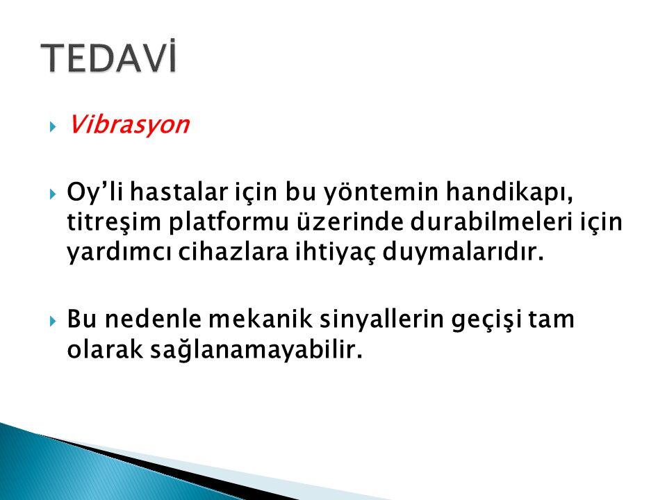 TEDAVİ Vibrasyon.