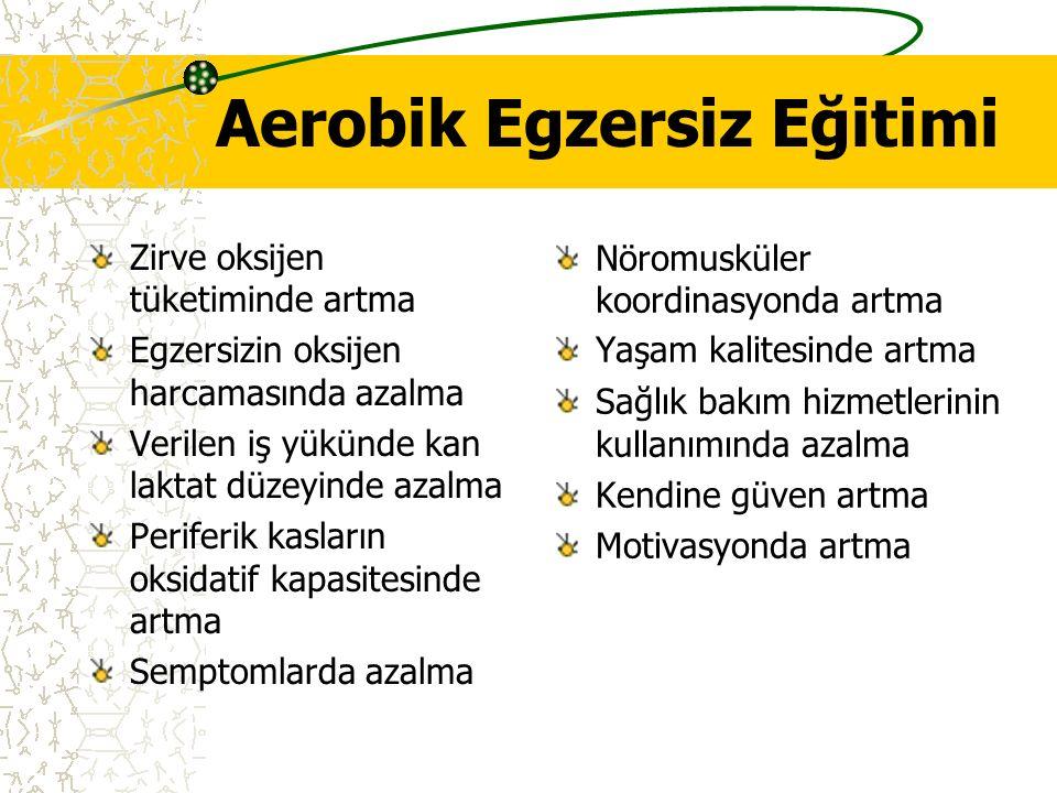 Aerobik Egzersiz Eğitimi