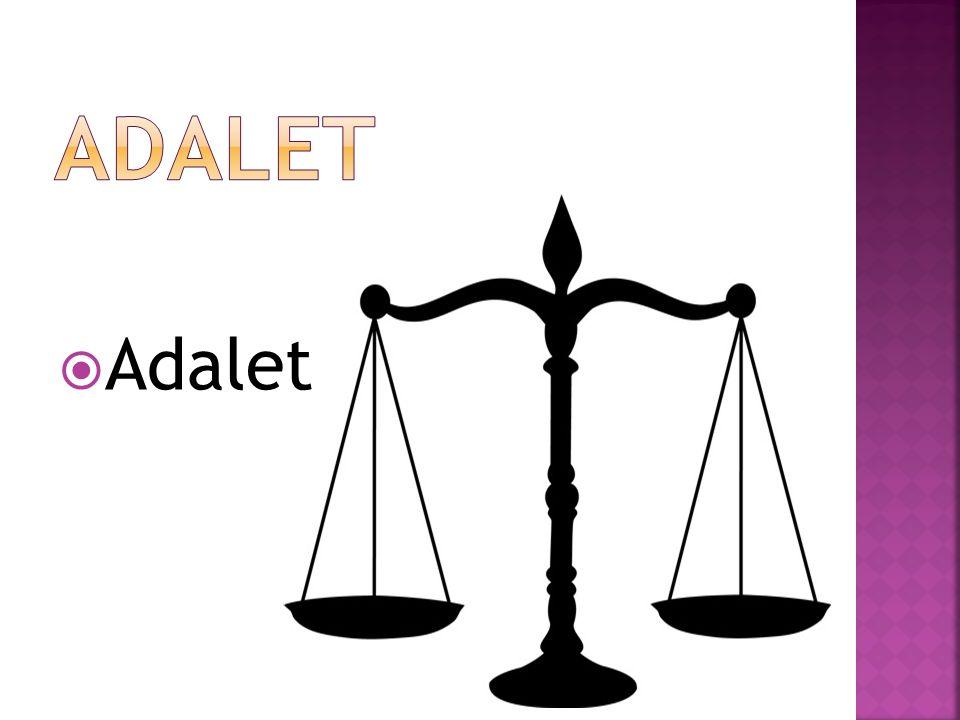 ADALET Adalet