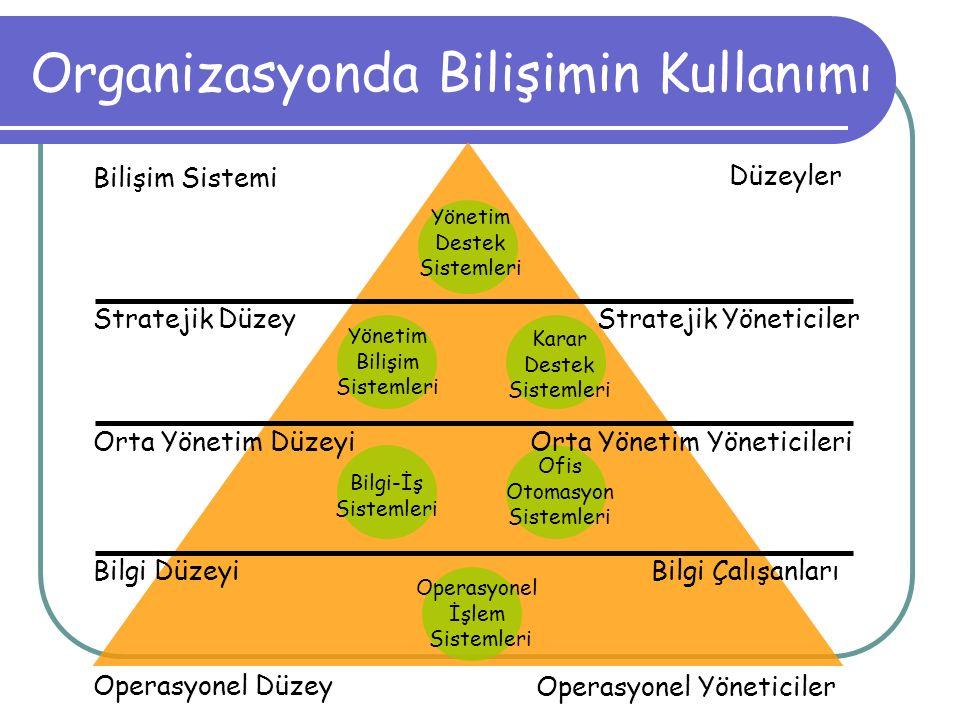 Organizasyonda Bilişimin Kullanımı
