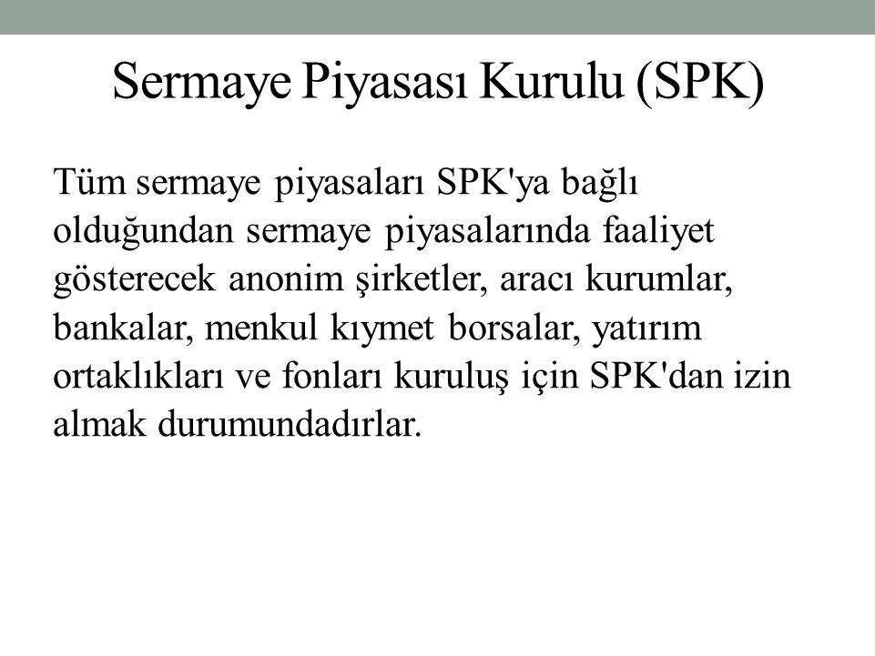 Sermaye Piyasası Kurulu (SPK)