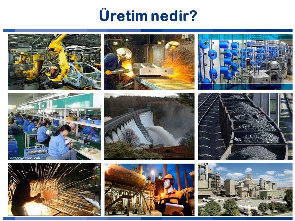 Üretim nedir