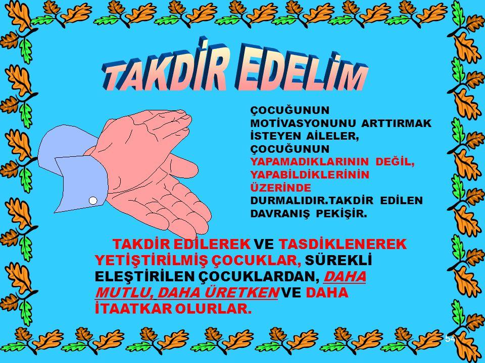 TAKDİR EDELİM