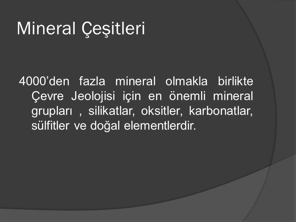 Mineral Çeşitleri