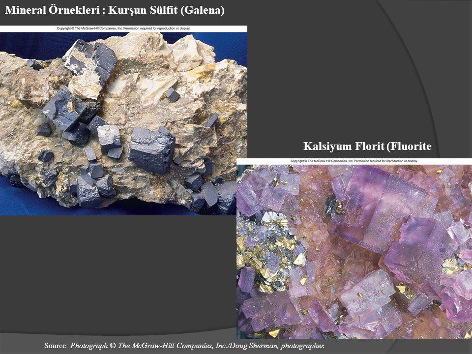 Mineral Örnekleri : Kurşun Sülfit (Galena)