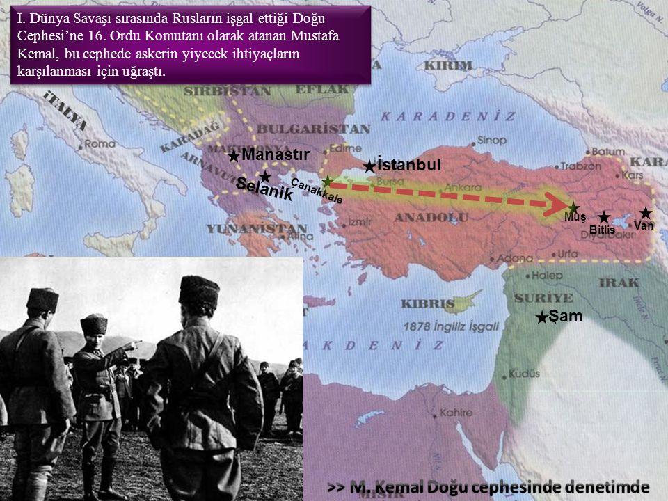 >> M. Kemal Doğu cephesinde denetimde