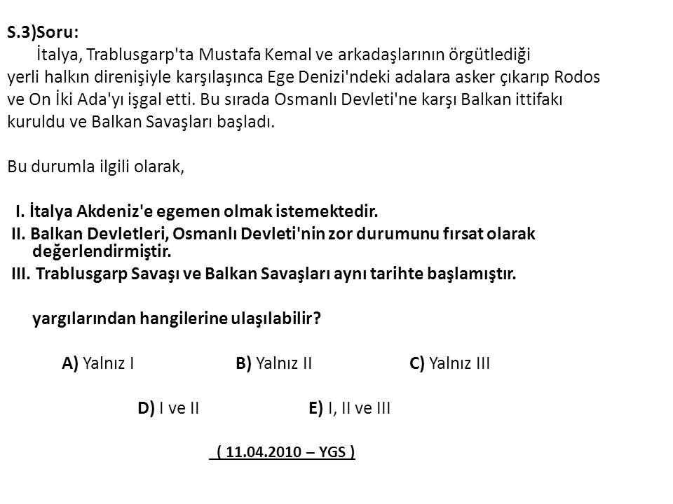 İtalya, Trablusgarp ta Mustafa Kemal ve arkadaşlarının örgütlediği