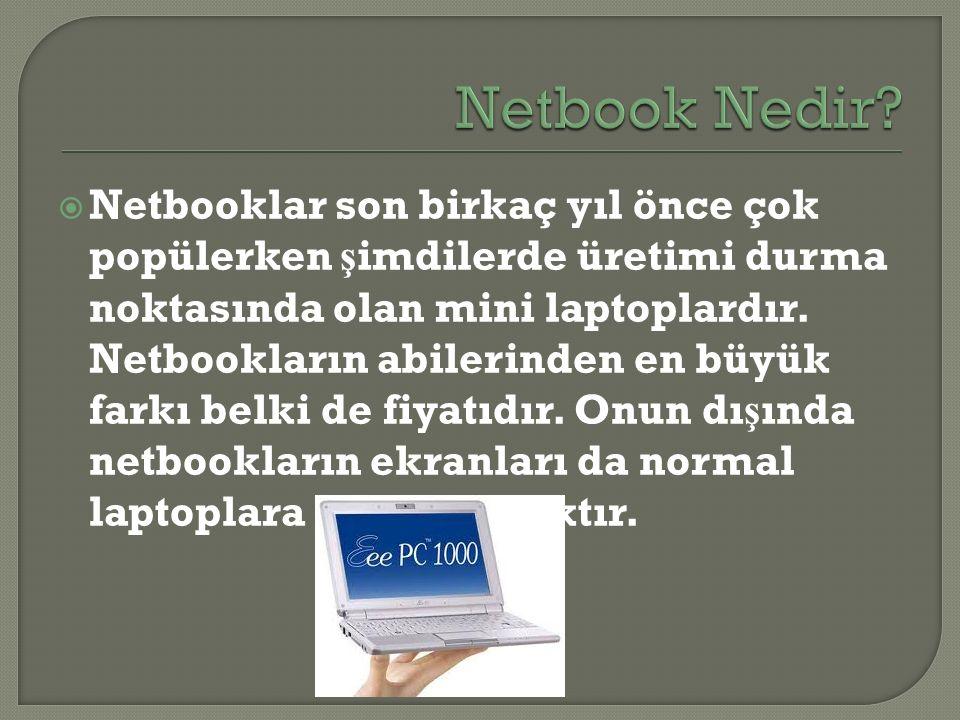 Netbook Nedir