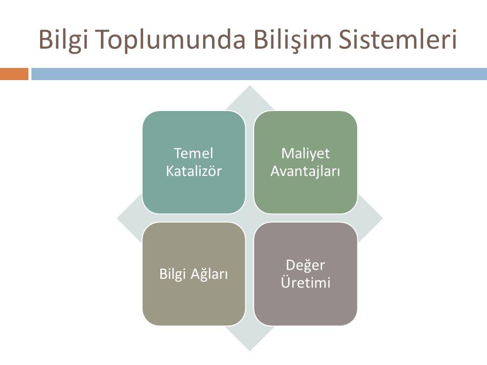 Bilgi Toplumunda Bilişim Sistemleri