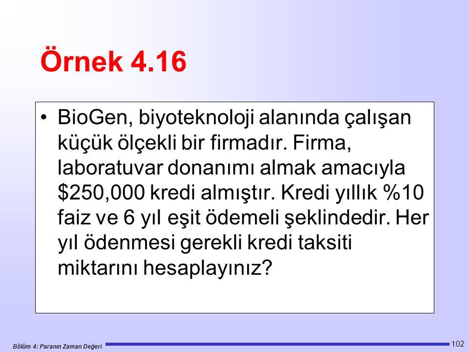 Örnek 4.16