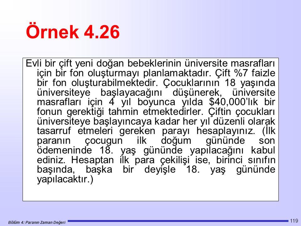 Örnek 4.26