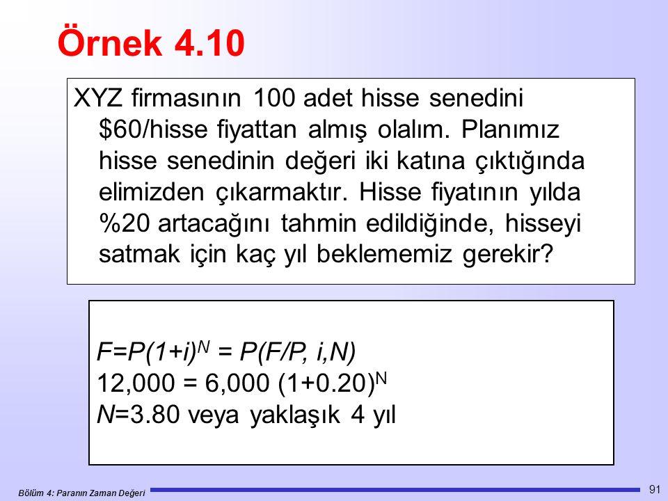 Örnek 4.10