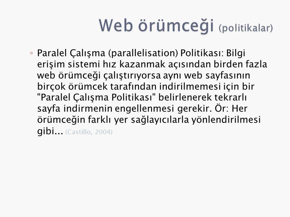 Web örümceği (politikalar)