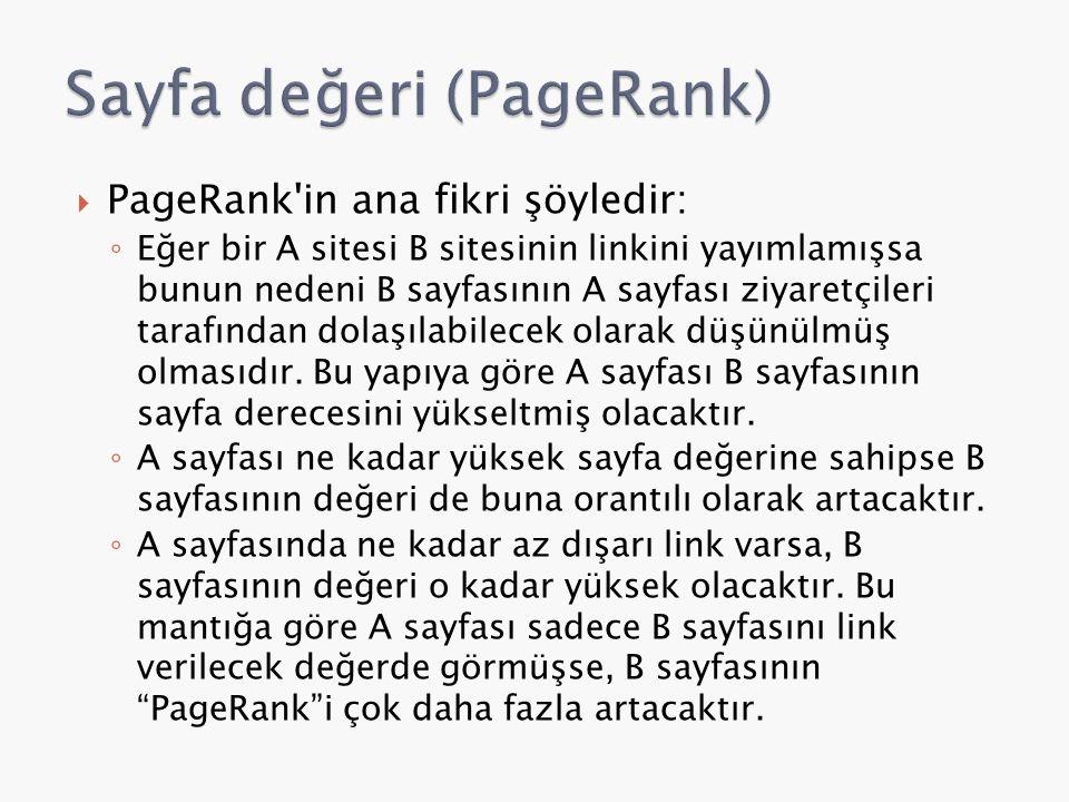 Sayfa değeri (PageRank)