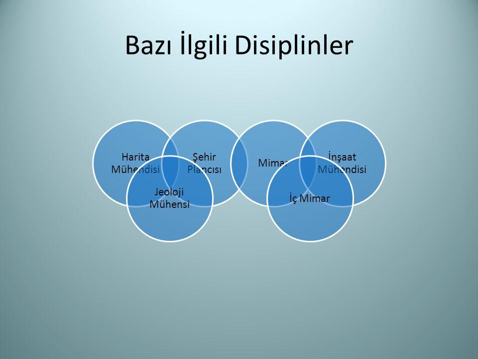 Bazı İlgili Disiplinler