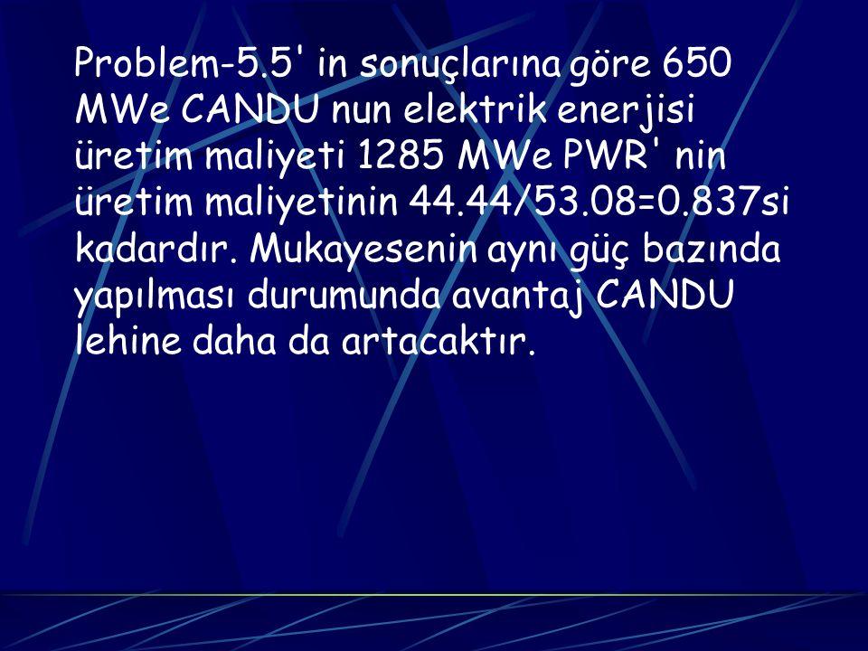Problem-5.5 in sonuçlarına göre 650