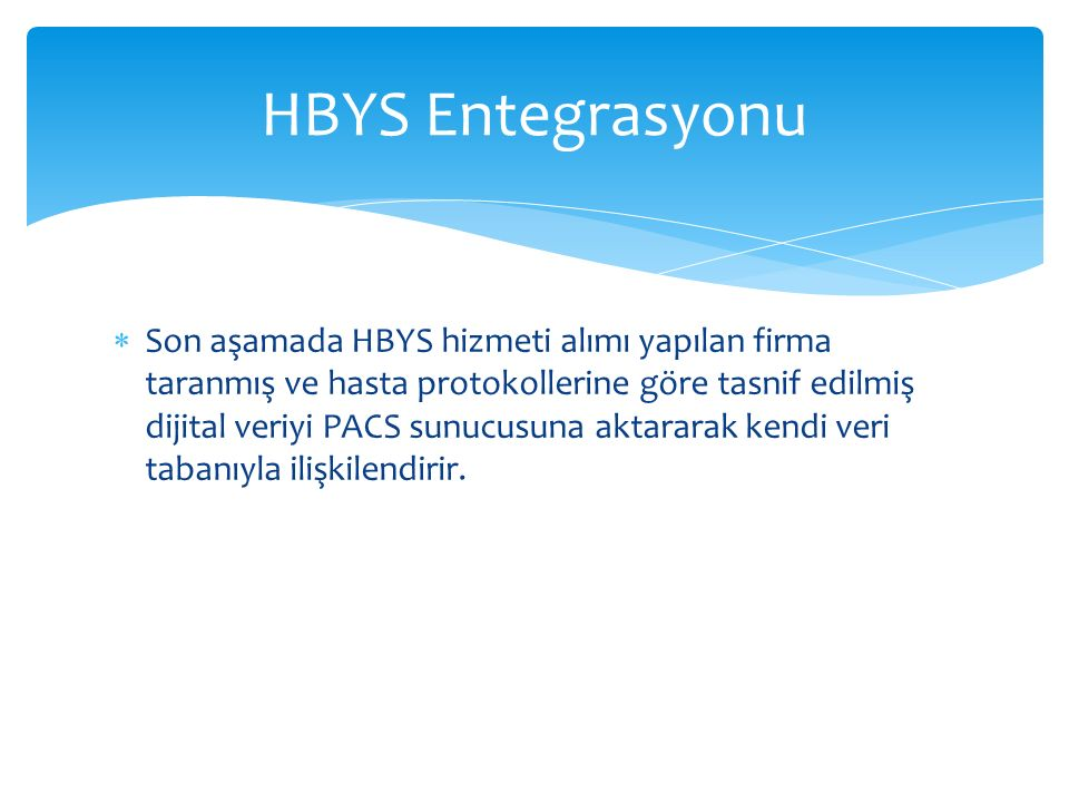 HBYS Entegrasyonu