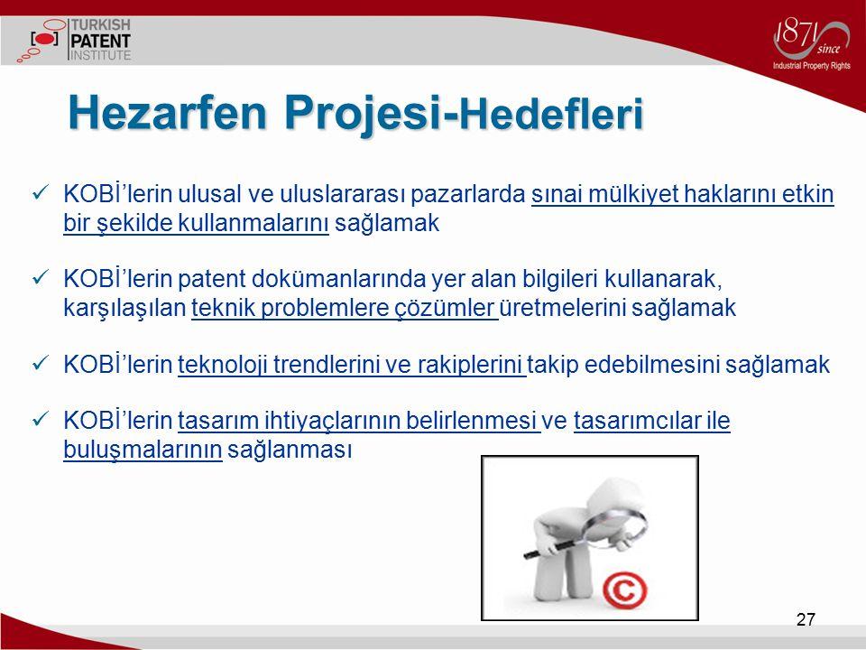 Hezarfen Projesi-Hedefleri