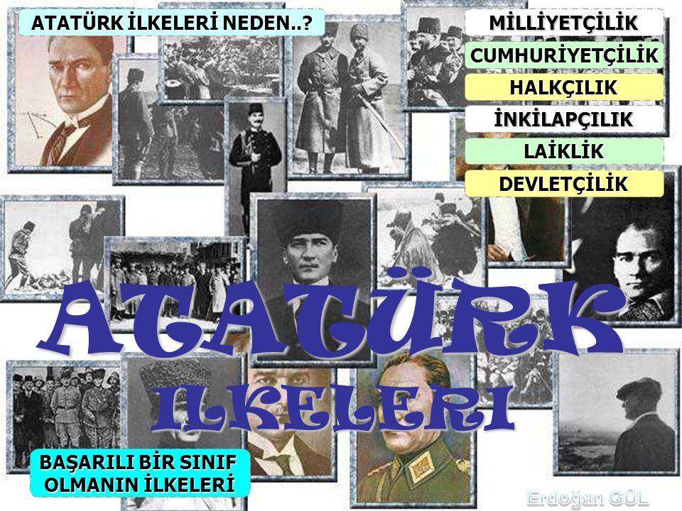 ATATÜRK İLKELERİ NEDEN..