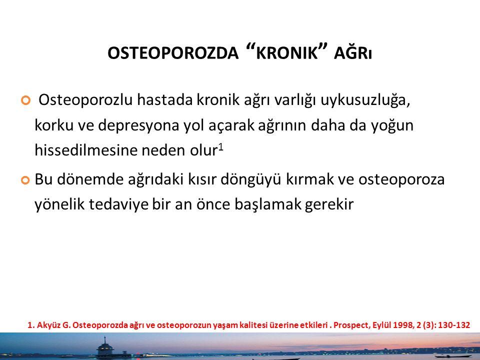 osteoporozda kronik ağrı