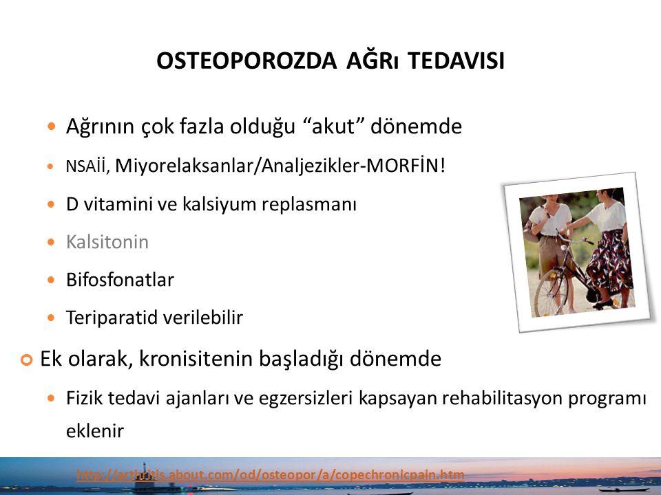 osteoporozda ağrı tedavisi